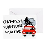 Champion Furniture Racer Greeting Card