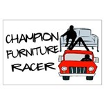 Champion Furniture Racer Large Poster