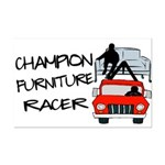 Champion Furniture Racer Mini Poster Print