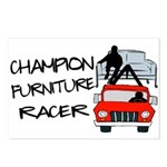 Champion Furniture Racer Postcards (Package of 8)