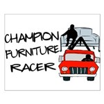 Champion Furniture Racer Small Poster