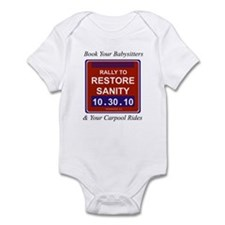 Cool Rally to restore sanity Infant Bodysuit