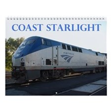 Wall Calendar - Coast Starlight