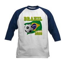 Brazil Brasil World Soccer Tee