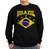 Brazil Soccer Flag 2010 Jumper Sweater