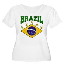 Brazil Soccer Flag 2010 T-Shirt