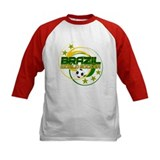 Brazil 5 Star World Soccer Tee