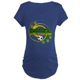 Brazil 5 Star World Soccer T-Shirt