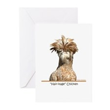 """Hair-itage"" Chicken Greeting Cards (Pk of 20)"