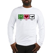 Peace Love Birds Long Sleeve T-Shirt
