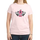 Survivor Wings Breast Cancer T-Shirt