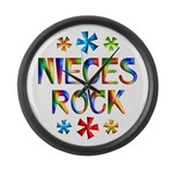 Niece Large Wall Clock