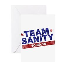 Restore sanity Greeting Card