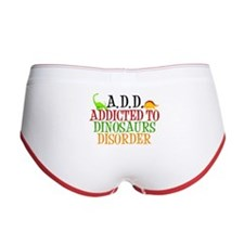 Funny Dinosaur Women's Boy Brief