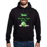 Best Thursday Night Bowler Hoodie (dark)