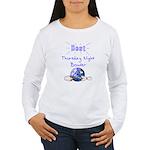Best Thursday Night Bowler Women's Long Sleeve T-S