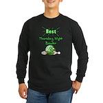 Best Thursday Night Bowler Long Sleeve Dark T-Shir