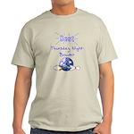 Best Thursday Night Bowler Light T-Shirt