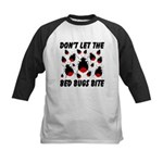 Don't Let The Bed Bugs Bite Kids Baseball Jersey