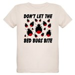 Don't Let The Bed Bugs Bite Organic Kids T-Shirt