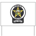 Adena Police Yard Sign