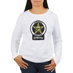Adena Police Women's Long Sleeve T-Shirt