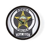 Adena Police Wall Clock
