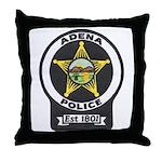 Adena Police Throw Pillow
