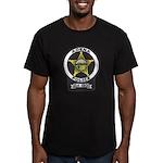Adena Police Men's Fitted T-Shirt (dark)