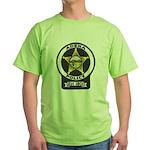 Adena Police Green T-Shirt