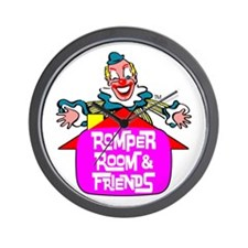 """ROMPER ROOM & FRIENDS"" Wall Clock"