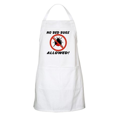 No Bed Bugs Allowed! Apron