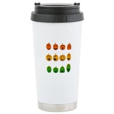Jack-o-Lanterns Ceramic Travel Mug