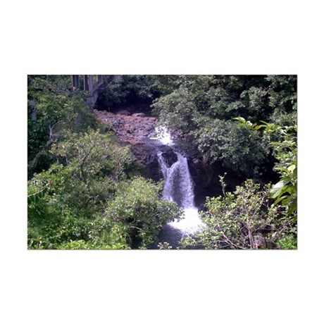 Waterfall Mini Poster Print