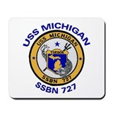 USS MICHIGAN SSBN 727 Mousepad