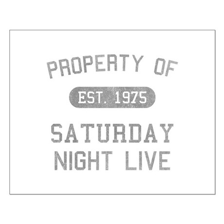 Property of SNL Small Poster