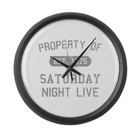 Property of SNL Large Wall Clock