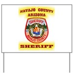Navajo County Sheriff Yard Sign