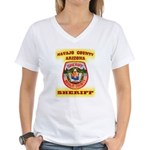 Navajo County Sheriff Women's V-Neck T-Shirt