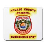 Navajo County Sheriff Mousepad