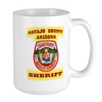 Navajo County Sheriff Large Mug