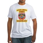 Navajo County Sheriff Fitted T-Shirt
