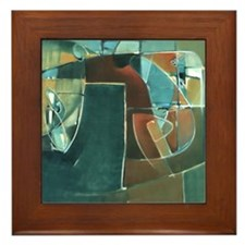 'Tango' Framed Ceramic Art Tile