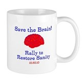 Save the Brain! Small Mug
