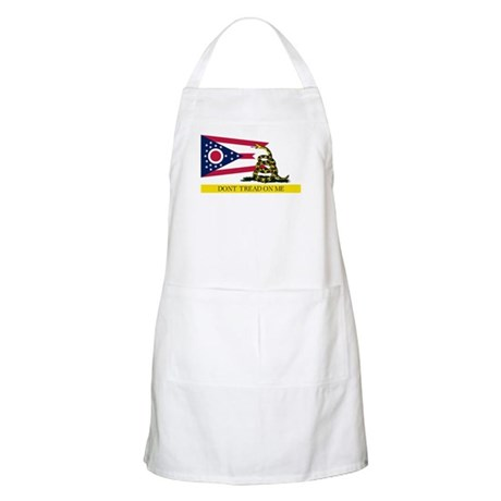 Dont Tread on Me Ohio Flag Apron