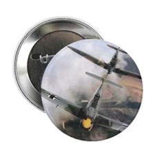 "Spitfire Chasing ME-109 2.25"" Button (100 pack)"
