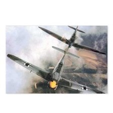 Spitfire Chasing ME-109 Postcards (Package of 8)
