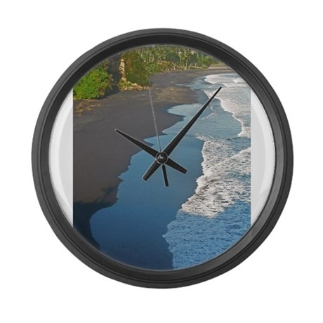 Bali Western Shore Large Wall Clock
