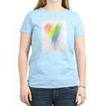 Rainbow Heart Women's Light T-Shirt
