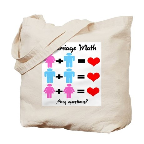 Marriage Math Tote Bag